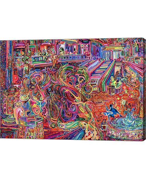 "Metaverse Mall by Josh Byer Canvas Art, 27.5"" x 20"""