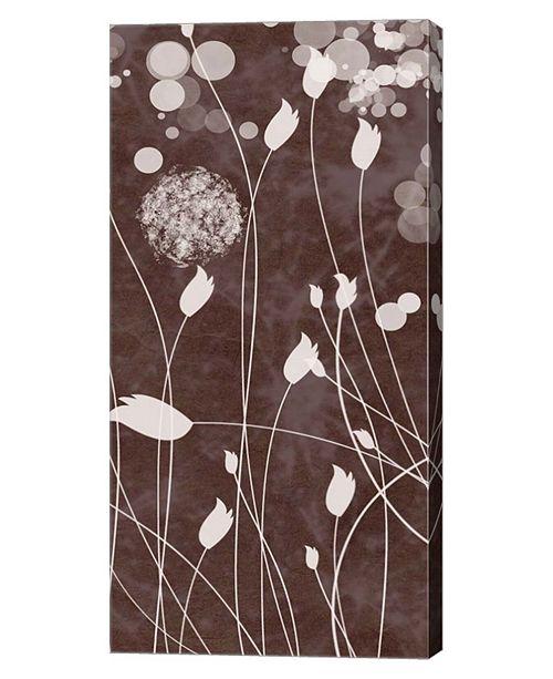"Metaverse Botany Expressions VII by Irena Orlov Canvas Art, 12"" x 24"""