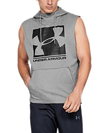 Men's Armour Fleece® Graphic Sleeveless Hoodie