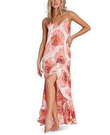 Billabong Kick It Up Printed Maxi Dress