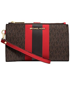 Michael Michael Kors Jet Set Double-Zip Wristlet