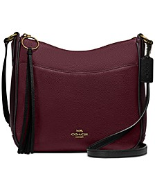 Colorblock Chaise Crossbody in Pebble Leather