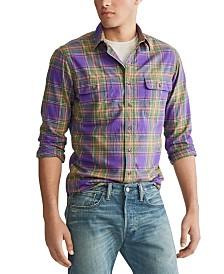 Polo Ralph Lauren Men's Twill Plaid Work Shirt