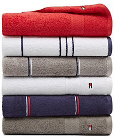 Tommy Hilfiger All American II Cotton Mix and Match Bath Towel Collection, Created for Macy's