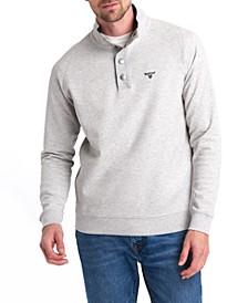 Men's Southwold Half-Snap Sweatshirt, Created for Macy's