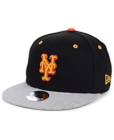 Boys' New York Mets Lil Orange Pop 9FIFTY Cap