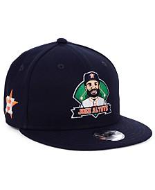 New Era Big Boys Jose Altuve Houston Astros Lil Player 9FIFTY Snapback Cap