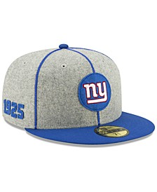 New York Giants On-Field Sideline Home 59FIFTY-FITTED Cap