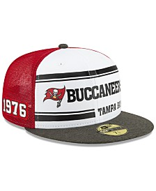 New Era Tampa Bay Buccaneers On-Field Sideline Home 59FIFTY-FITTED Cap