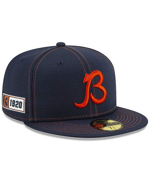 New Era Chicago Bears On-Field Sideline Road 59FIFTY-FITTED Cap