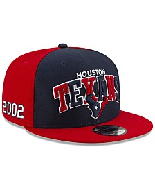 New Era Houston Texans On-Field Sideline Home 9FIFTY Cap
