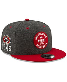 San Francisco 49ers On-Field Sideline Home 9FIFTY Cap