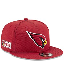 New Era Arizona Cardinals On-Field Sideline Road 9FIFTY Cap