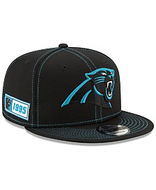 New Era Carolina Panthers On-Field Sideline Road 9FIFTY Cap