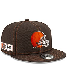 Cleveland Browns On-Field Sideline Road 9FIFTY Cap