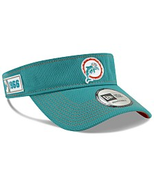 New Era Miami Dolphins 2019 On-Field Sideline Visor