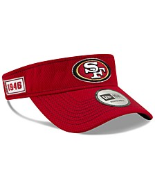 San Francisco 49ers 2019 On-Field Sideline Visor