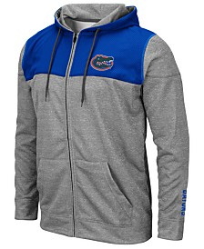 Colosseum Men's Florida Gators Nelson Full-Zip Hooded Sweatshirt