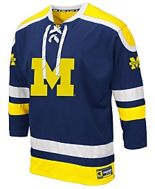 Colosseum Men's Michigan Wolverines Mr. Plow Hockey Jersey