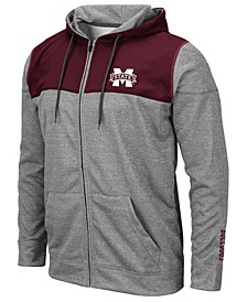 Men's Mississippi State Bulldogs Nelson Full-Zip Hooded Sweatshirt