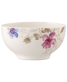 Villeroy & Boch Dinnerware, Mariefleur Gris French Oval Rice Bowl