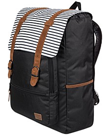 Ocean Vibes Striped Backpack