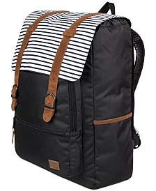 Roxy Ocean Vibes Striped Backpack
