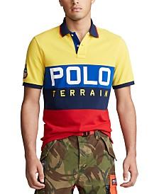 Polo Ralph Lauren Men's Logo Terrain Knit Polo Shirt