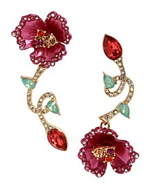 Floral Mismatch Earrings
