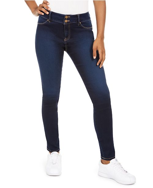 Sound/Style Shape And Lift Seamless Skinny Jeans