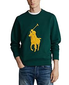 Polo Ralph Lauren Men's Double-Knit Big Pony Crew Neck Sweatshirt