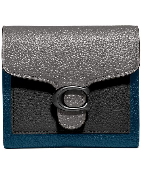 COACH Colorblock Tabby Small Wallet
