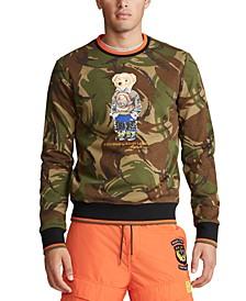 Men's Big & Tall Polo Bear Camo Sweatshirt