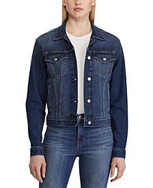 Worn-Look Denim Jacket