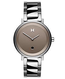 Signature II Cloud Silver Stainless Steel Bracelet Watch 34mm