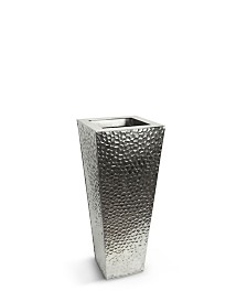 Martello Classik Tapered Stainless Steel Vase 28""