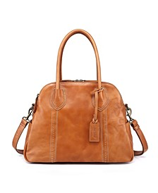 Retro Leather Hobo Bag