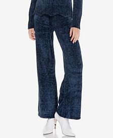 Scallop Waistband Knit Pants