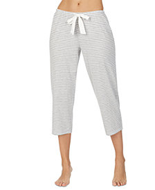 Lauren Ralph Lauren Striped Capri Pajama Pants