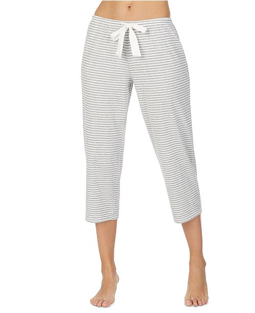 Lauren Ralph Lauren Striped Capri Pajama Pants