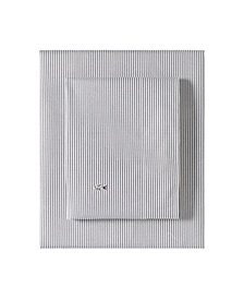 Lacoste Pinstripes Grey Full Sheet Set
