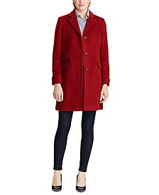 Petite Reefer Coat, Created for Macy's