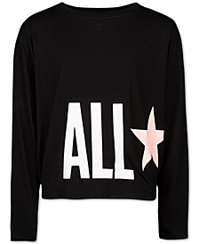 Big Girls All Star Dolman-Sleeve Top