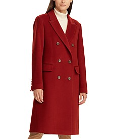 Lauren Ralph Lauren Notch Collar Double-Breasted Coat