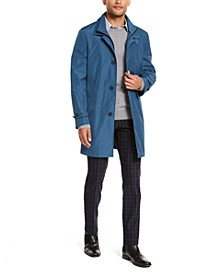 Men's Slim-Fit Modern Raincoat