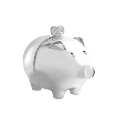 Vera Wang for Wedgwood Infinity Baby Piggy Bank