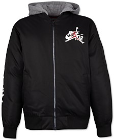 Jordan Little Boys Hooded Bomber Jacket