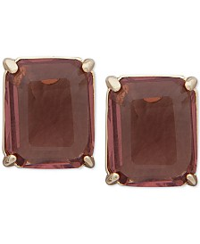 Lauren Ralph Lauren Stone Stud Earrings