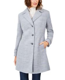 Calvin Klein Single-Breasted Walker Coat