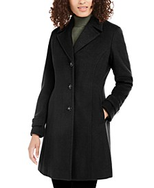 Single-Breasted Walker Coat